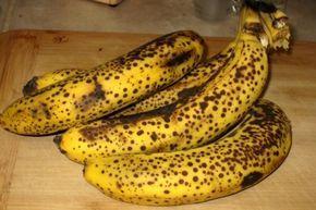 Sabes o que acontece ao teu corpo quando comes bananas muito maduras?