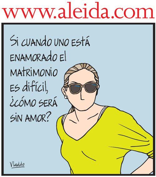 Aleida y el matrimonio, Caricaturas - Edición Impresa Semana.com - Últimas Noticias
