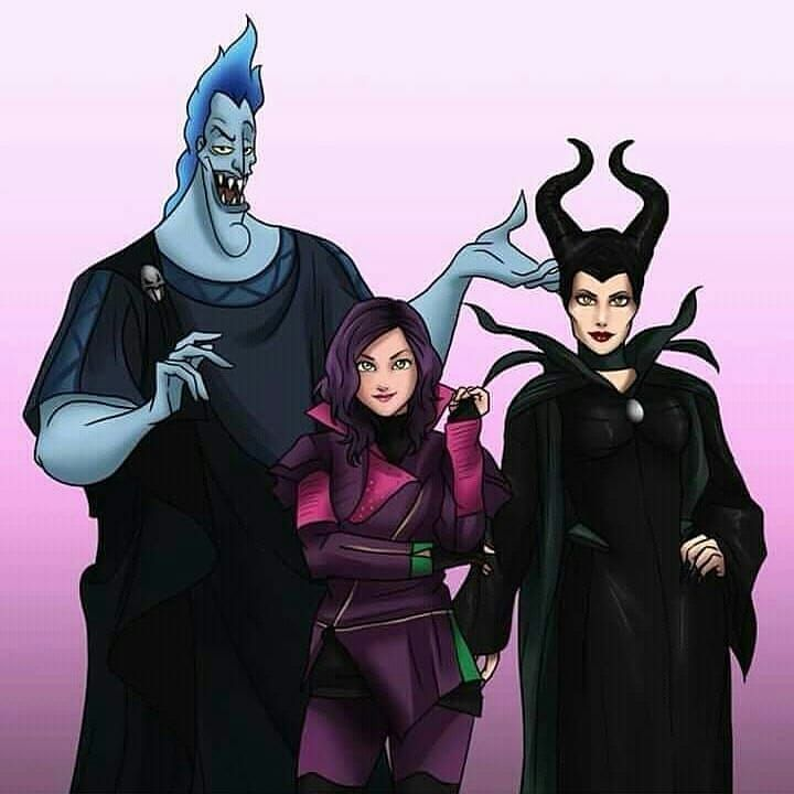 Mal S Family Mal Dovecameron Maleficent