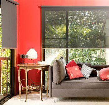 http://rdvsurlechantier.fr Store, baie vitrée avec store, rideaux modernes