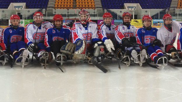 GB sledge hockey eyeing Paralympics