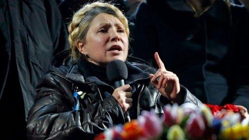 2017 год... Взгляд на прошлое: Юлия Тимошенко вернулась на Майдан