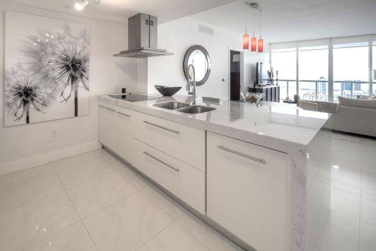 495 Brickell Ave, Unit 5505, Miami, FL  $865,000 Lowest priced direct bay view. 2bed + den. Highly upgraded with Carrera marble countertops and white lacquered cabinets, Nest thermostat, 24 x 24 porcelain floors. Window treatments. Upgraded light fixtures. Exceptional value. Best line. Den can be converted into 3rd bedroom. This unit won't disappoint. Don't miss this beautiful unit! Contact Jon to show at (786) 877-6201 or www.jonmanngroup.com  #iconbrickellcondo #jonmanngroup