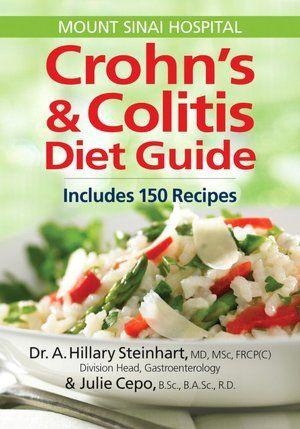 Crohn's and Colitis Diet Guide: Includes 150 Recipes    #ccfa #crohns #colitis