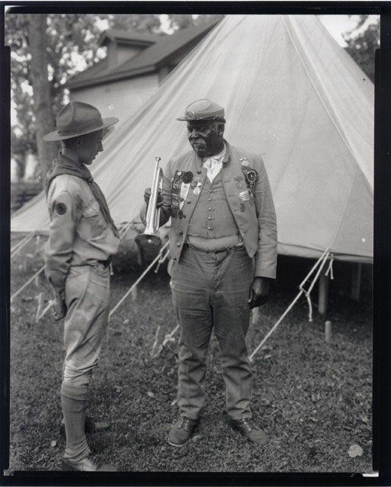 A black confederate veteran