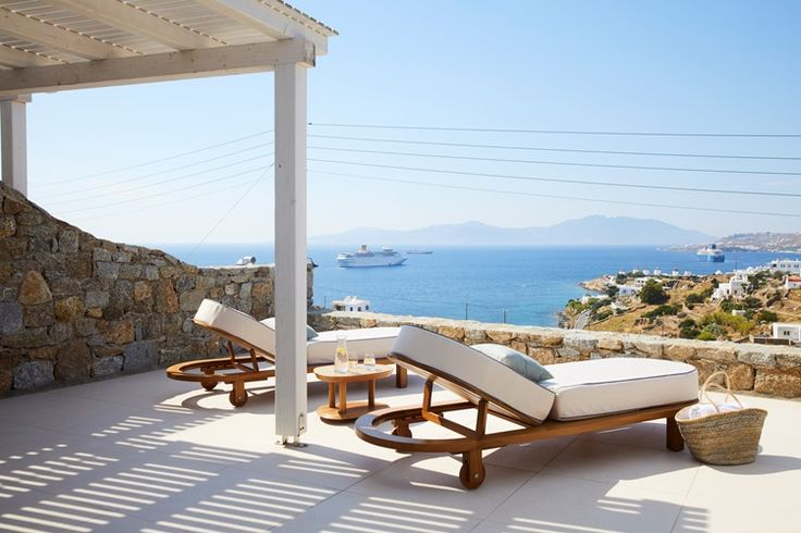 From the easy, breezy summer sundowners to all day poolside idling, let the sharply honed hospitably skills of the newly opening Myconian Kyma act as a Greek family you wish you had.