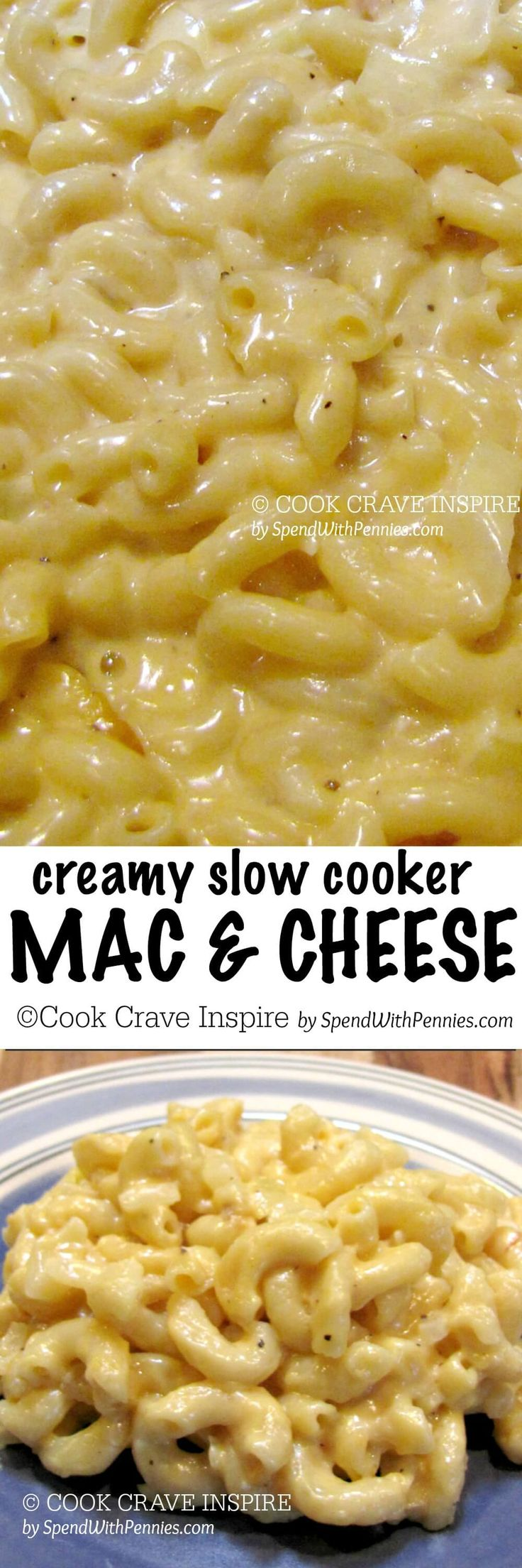 Ultra creamy Mac 'n Cheese.. this is one of my favorite recipes of all time. I've made it so many times and everyone in my family raves about it!