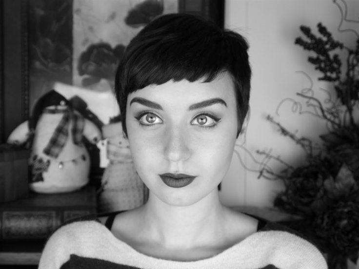 Pixie Cut Audrey Hepburn Pixie cuts, shorts hair,