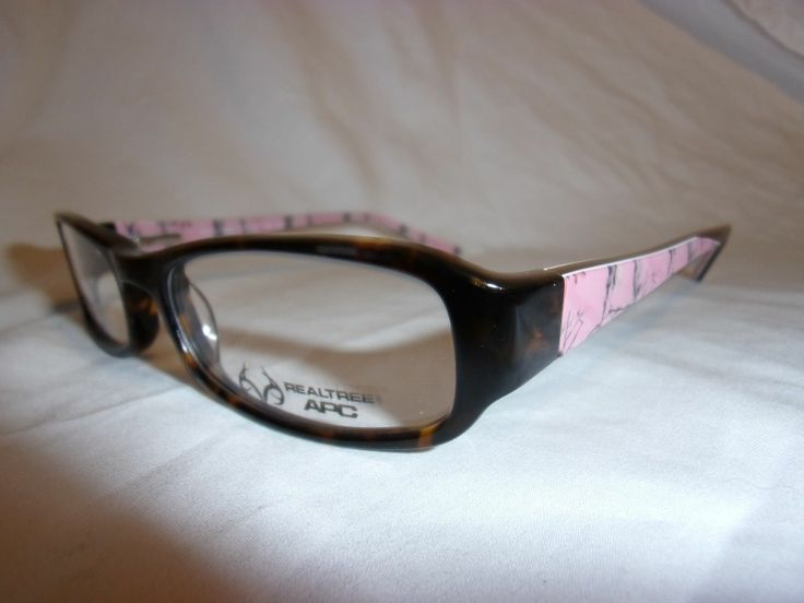 real tree apc glasses frame women r452 tortoise pink camo 51 17 135 new