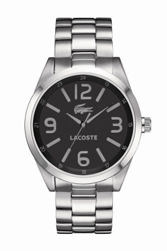 Lacoste Mens Black and Grey Montreal   Watches I would love this watch for  my boyfriend!  4683cb339b