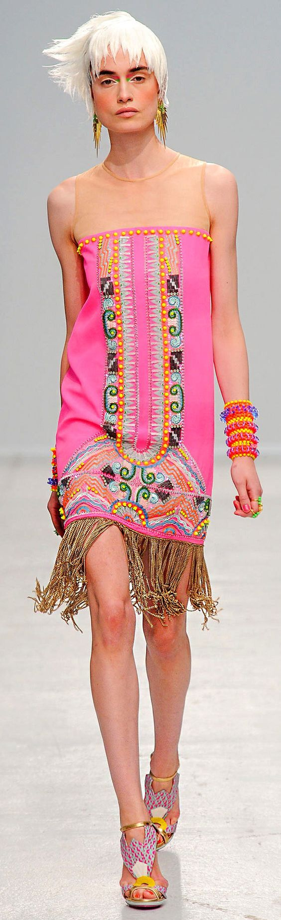 Spring 2014 Ready-to-Wear Manish Arora: