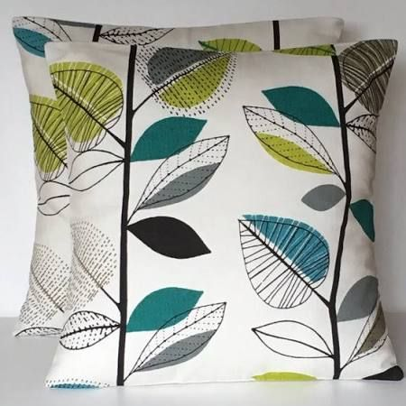 teal and green cushion - Google Search
