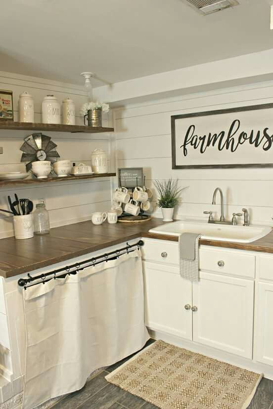 Small farmhouse kitchen