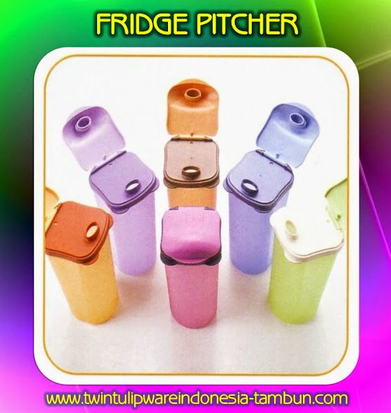 Fridge Pitcher - Produk Baru #Tulipware 2014