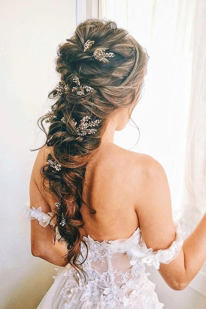 42 Half Up Half Down Wedding Hairstyles Ideas | Wedding Forward