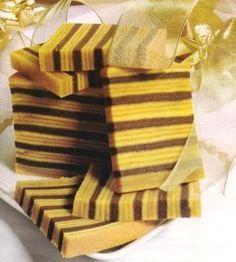 Resep Kue Lapis Legit Coklat