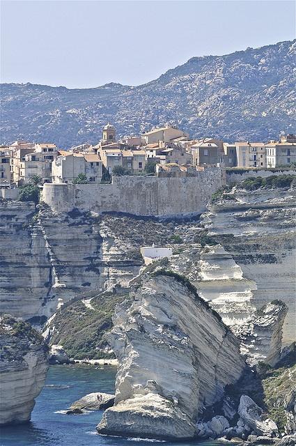 Bonifacio, Corsica by Stephane Cholette