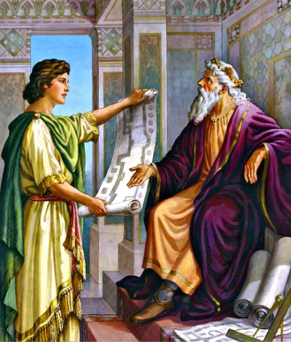 King David Charges Solomon To