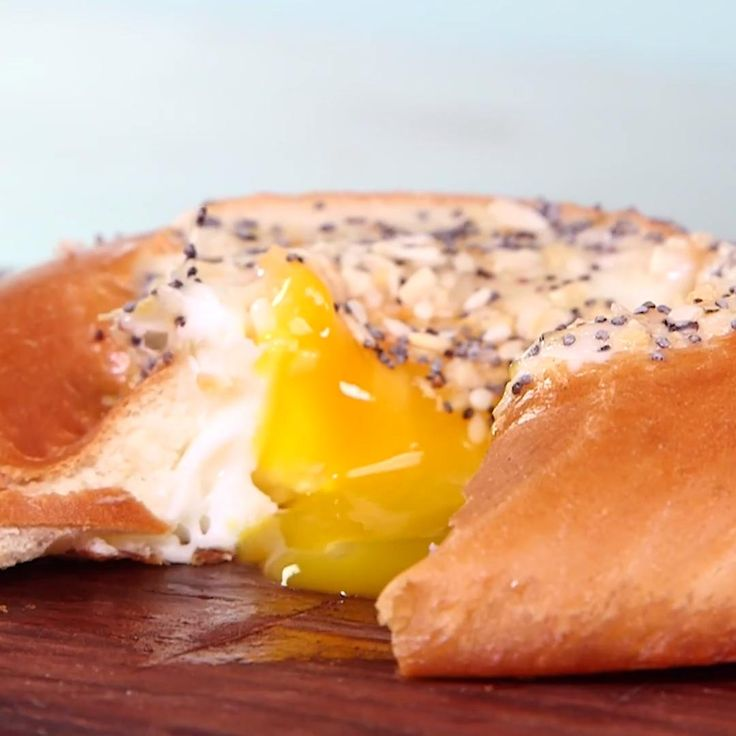 How to Make an Everything Egg in a Bagel Hole
