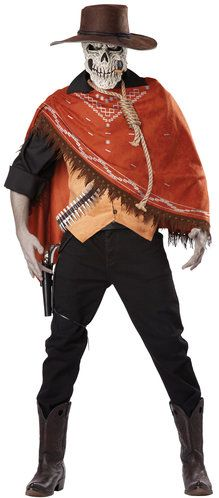 outlaws revenge scary cowboy costume