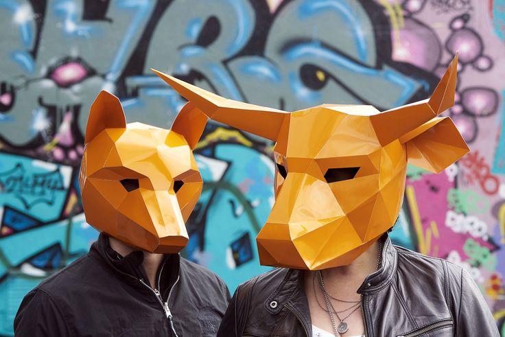 masken, orange, shooting, werbeagentur [raster]fabrik gmbh, graphitti, farbe