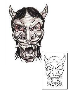 Show details for Devil - Demon Tattoo Horror tattoo | CHF-00180