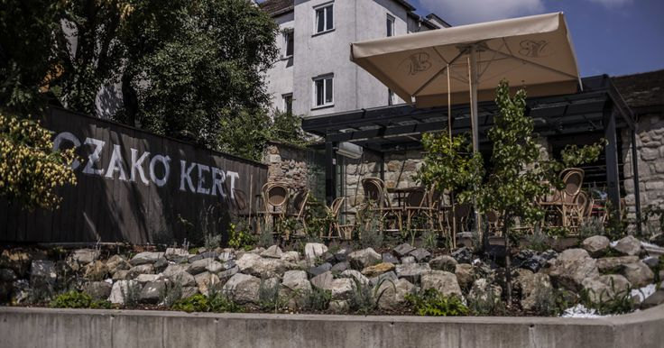 Gerlóczy Café opened a terrace in the garden of Tabán's oldest house, more…