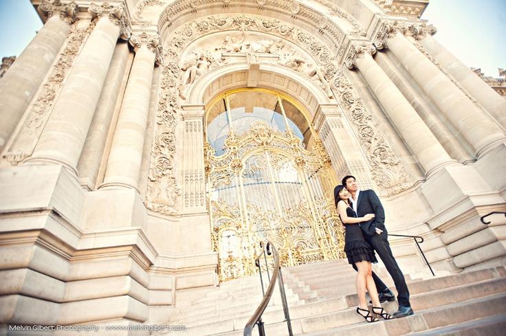 Pont des Arts, Pont Alexandre III, Louvre engagement Paris engagement photography