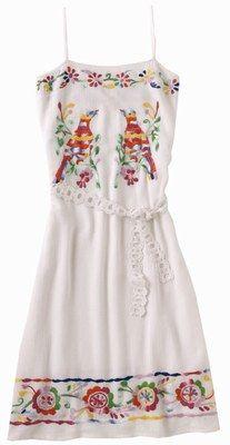 vestido bordado - Buscar con Google                                                                                                                                                                                 Plus