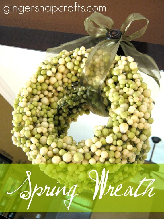 spring wreaths images - Google Search