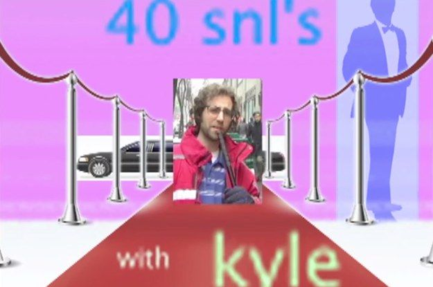 "Kyle Mooney's Unaired ""SNL"" 40th Anniversary Video Is Absolutely Brilliant #SNL40"