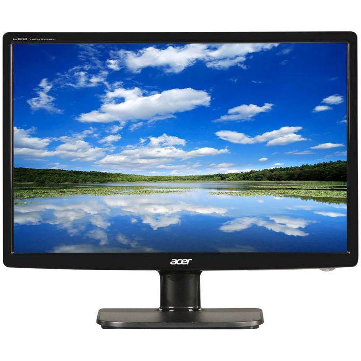 """Acer - Refurbished V195WL 19"""" LED HD Monitor - Black"""