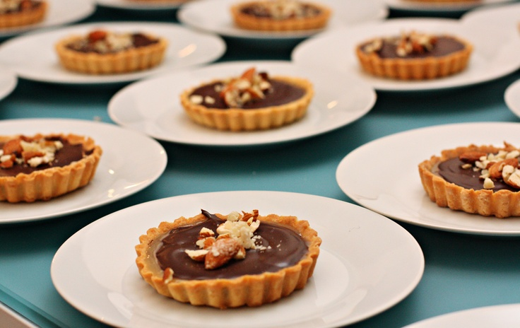 SecretEats dinner #1 salted caramel tarts