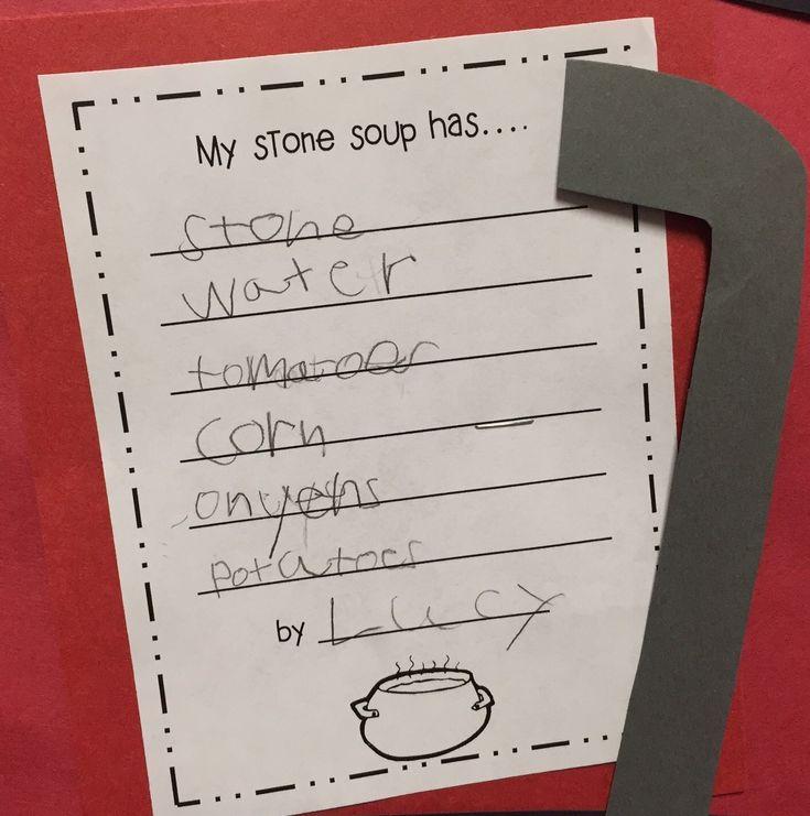 stone soup activities for kindergarten