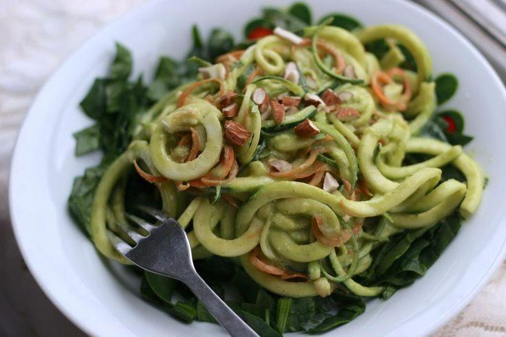 Sinds gisteren zijn wij de gelukkige eigenaressen van een Spirali, een apparaat waarmee je heel gemakkelijk slierten maakt van rauwe groente en fruit. We zijn er heel blij mee! Zeker als we denken aan het naderende voorjaar en de zomer en alle bergen salades die we dan weer willen eten…awesome! Om het apparaat in te … Lees verder Raw Vegan Pad Thai →