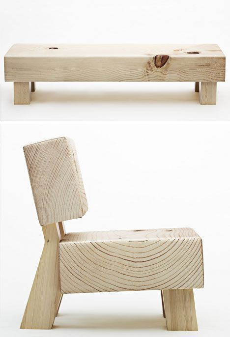 soft wood sofa concept