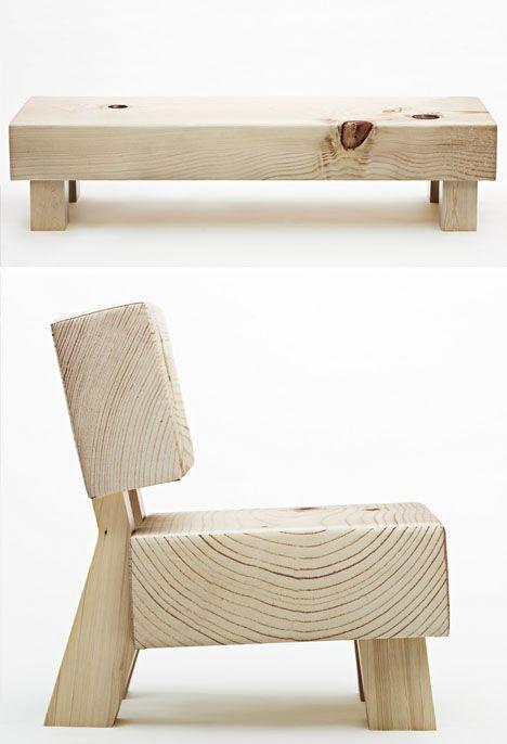 soft wood sofa concept