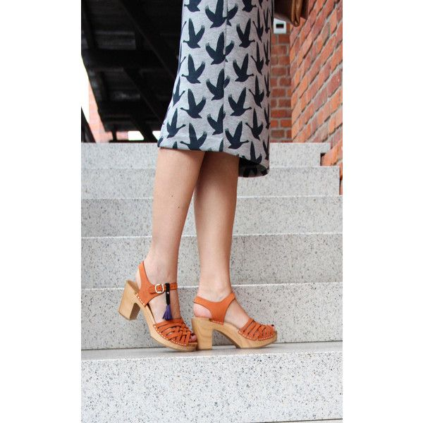 Swedish Clogs (450 PLN) found on Polyvore featuring women's fashion, shoes, clogs, clog shoes and clogs footwear