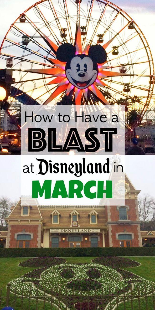 Sechs Tipps für die Planung des BESTEN Disneyland-Urlaubs im März! Disneyland in M …