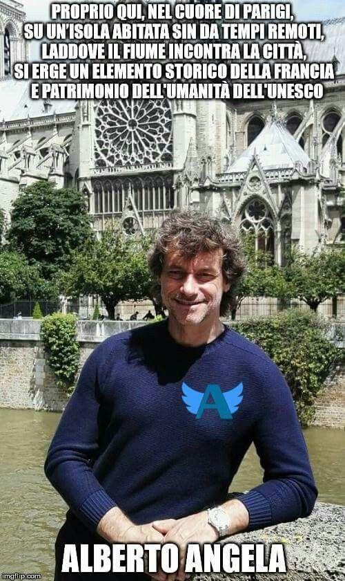 @stepiccin celebra il patrimonio mondiale UNESCO sul gruppo fb Angelers - Fan di Alberto Angela