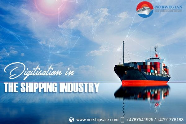 Not sure how #digitisation is making waves in the maritime industry? Read on to know more. #ShippingIndustry #Ship #Shipping