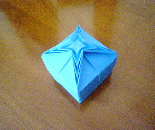41 best Vasos Origami images on Pinterest | Origami boxes ... - photo#6