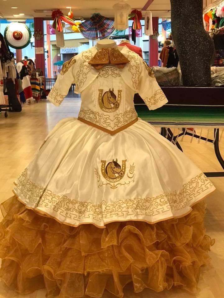 Vestido Charro Presentación 3 Años Mariachi Bautizo