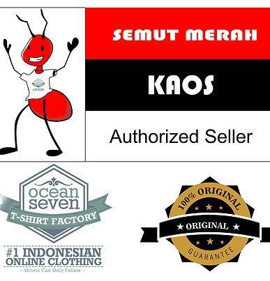 Semut Merah Kaos OceanSeven adalah usaha toko online distro dari produk OceanSeven, yang menjual baju kaos T-Shirt, kaos Reglan, kaos Anak dan kaos POLO Shirt. Semut Merah Kaos untuk saat ini tidak memiliki toko fisik, kami hanya berjualan melalui toko online