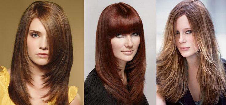 7 Gambar Model Rambut Panjang untuk Wajah Bulat Terbaru ...