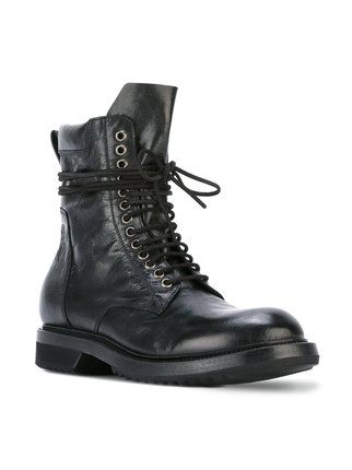Rick Owens low Army boots