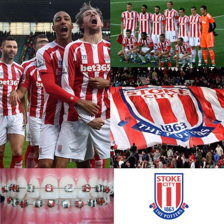 Football Fridays ⚽️ Today's featured team is #stokecityfc #stokecity #bet365 #thepotters #englishpremierleague #EPL #UEFA #premierleague #braces #brackets #orthodontics #orthodontist #ortodoncia #ortodoncista #ortodonzia #ortodontia #ortodontista #orthodontie #kieferorthopädie #zahnspange #football #soccer #scfc #bracescolours #dental #dentist