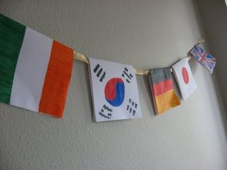 Olympics craftsFlags Banners, Olympics Activities, 2014 Olympics, Activities For Kids, Olympics Crafts, Flash Cards, Olympics Fun, Learning Activities, Country Flags