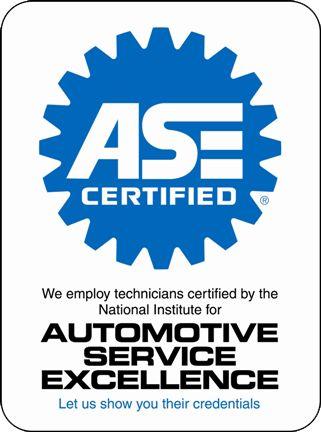 We have certified technicians
