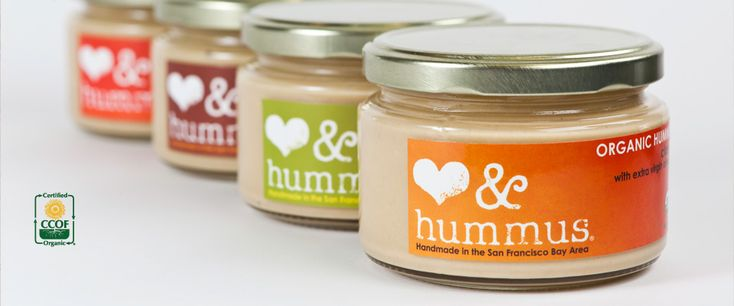 Love & Hummus is the San Francisco Bay Area's only local, organic, homemade and sustainably packaged hummus. All of their hummus is gluten-free, vegan and made with non-GMO ingredients with no additives or preservatives.